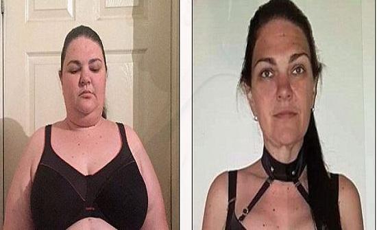 شاهد.. سيدة مفرطة الوزن تحول جسدها كعارضات الأزياء