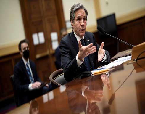 بلينكن يؤكد في اتصال مع رئيس الوزراء الليبي ضرورة تنفيذ اتفاق وقف إطلاق النار