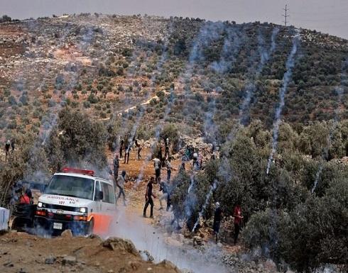 إصابة عشرات الفلسطينيين برصاص الاحتلال الإسرائيلي بالضفة الغربية- (صور وفيديو)