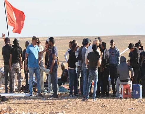 الجيش التونسي يطلق النار في الهواء لتفريق محتجين أمام محطة غاز