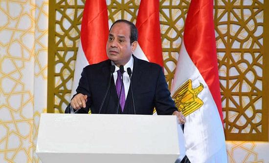 """السيسي يطلق مبادرة جديدة لعام 2019 ويصف المواطن المصري بـ""""البطل الحقيقي"""""""