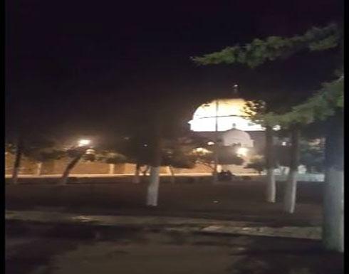 تكابير وتهاليل عيد الفطر السعيد من المسجد الاقصى المبارك