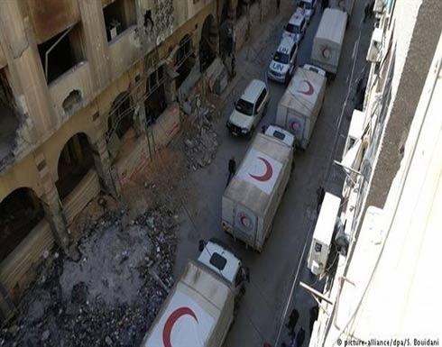 الغوطة.. خروج مسلحين ودخول مساعدات