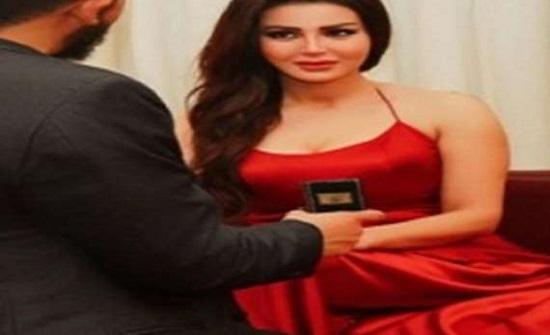 شائعات زواج شيما الحاج  والأردني منذر رياحنة.. شاهد أول تعليق من الممثلة