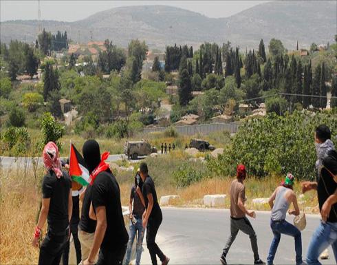 مواجهات مع الاحتلال بالضفة عقب مظاهرات دعم للأسرى