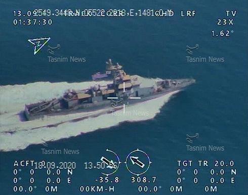 """الحرس الثوري الإيراني يرصد حاملة طائرات أمريكية بواسطة """"المسيرات"""".. صور"""