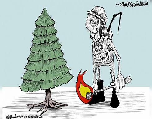 اشعال شجرة الميلاد