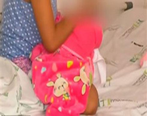 بالصور : طفلة تلد رضيعا بعد اعتداء عليها  من شقيقها الأكبر..(اليكم التفاصيل )