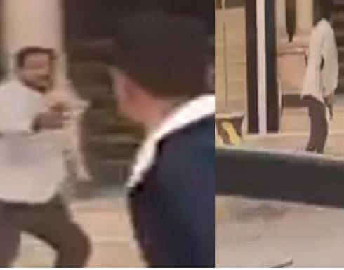 مصري يطلق النار عشوائيا على المارة بالاسكندرية .. بالفيديو