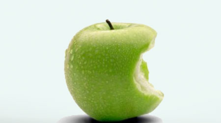 قشرة التفاح تحتوي على مادة حارقة للدهون