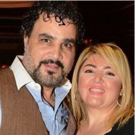 زوج مها أحمد يتغزل بها أمام الجميع – بالصورة