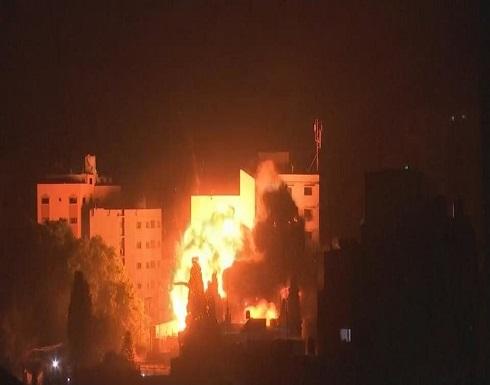 الاحتلال الإسرائيلي يقصف غزة بـ 15 غارة