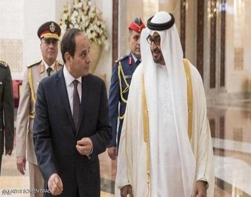 محمد بن زايد والسيسي يبحثان التعاون وقضايا المنطقة