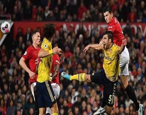 مانشستر يونايتد يتعادل مع أرسنال 1-1