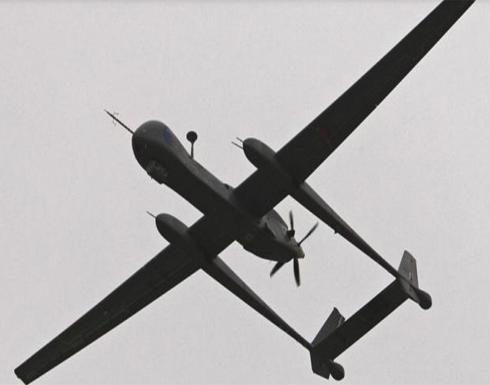 إسقاط طائرة درون حاولت استهداف مقر قيادة التحالف في عدن