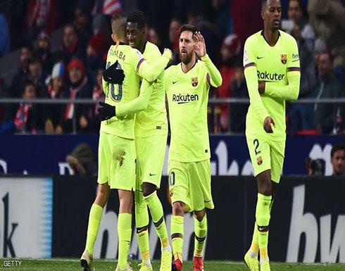 لحظة ميسي الساحرة تمنح برشلونة الفوز