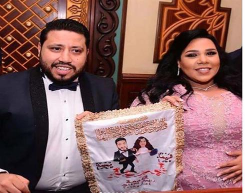 خطيب شيماء سيف يعلق على صورة حضنه لها
