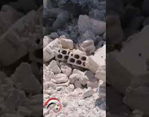 شاهد : قتلى في معارك عنيفة بخان شيخون بين النظام والمعارضة