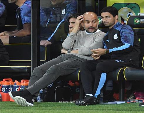 جوارديولا يهنئ ليفربول بطريقة ساخرة