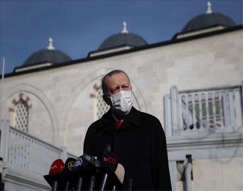 أردوغان: نتطلع لاستمرار علاقتنا القوية بروسيا