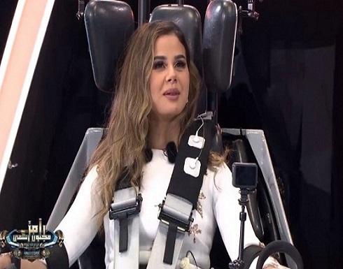 صورة عفوية لمنة عرفة من كواليس رامز مجنون رسمي كشفت فبركة البرنامج..شاهد