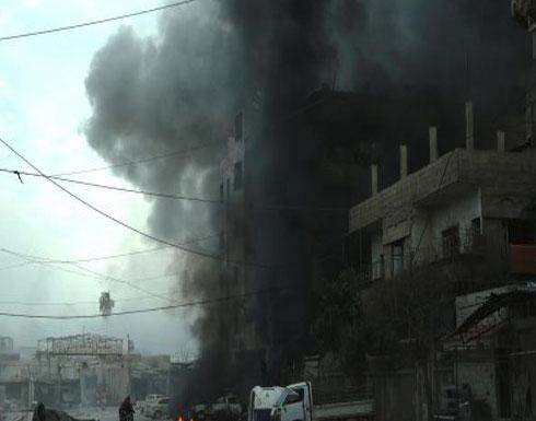قوات النظام تستأنف القصف على الغوطة بعد تقطيع أوصالها