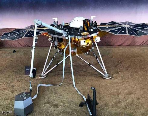 """هبوط مسبار """"ناسا"""" على سطح المريخ بنجاح"""