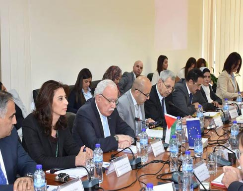 السلطة الفلسطينية تحث الاتحاد الأوروبي على الاعتراف الكامل بدولة فلسطين