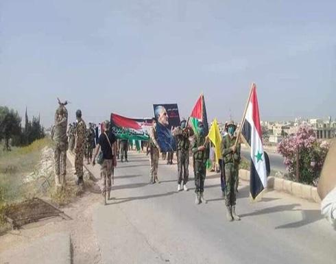 تعزيزات لميليشيات موالية لإيران إلى الحدود السورية العراقية