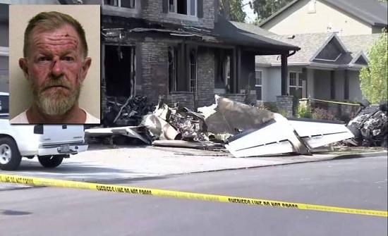 فيديو| هذا الزوج غضب من زوجته فسرق طائرة ونفّذ هجوماً انتحارياً على منزله