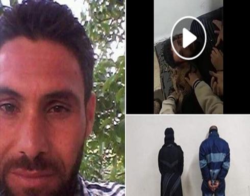 صورته وهو يحتضر .. قتل أب سوري أمام أطفاله على يد زوجته وعشيقها (فيديو)