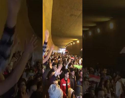 شاهد : هتافات من بغداد ...لا مقتدى ولا هادي حرة تظل بلادي