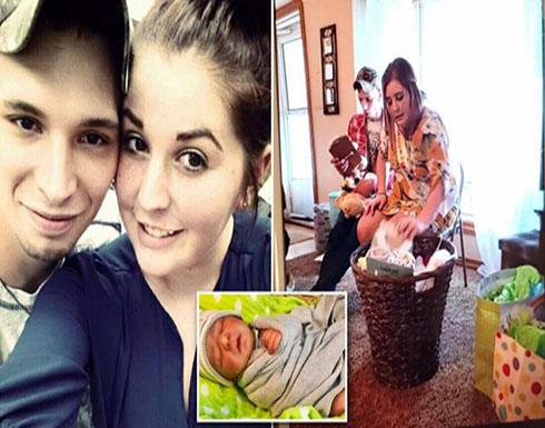 بالصور : افتعلا ميلاد طفل ثم وفاته.. زوجان يخدعان أقاربهما لجني الهدايا والتبرعات (