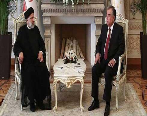 الرئيسان الإيراني والطاجيكي يحذران من انعدام الإستقرار في أفغانستان وأثاره على أمن المنطقة
