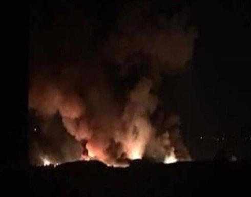 الجيش السوري يقول إسرائيل تطلق صواريخ على مطار عسكري قرب دمشق