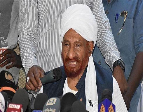 الصادق المهدي: التطبيع مع إسرائيل لن يحقق مصالح السودان