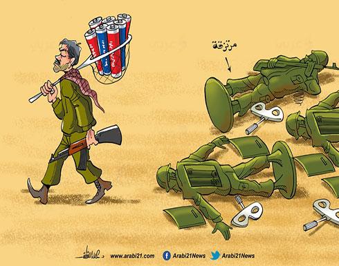 مرتزقة ليبيا..