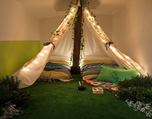 غابة داخل منزل لمواجهة اكتئاب الشتاء!