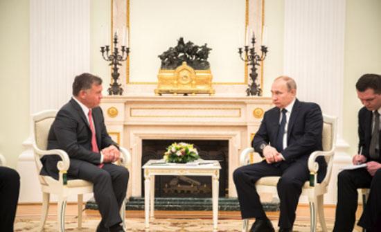 الملك وبوتين يعقدان مباحثات في موسكو