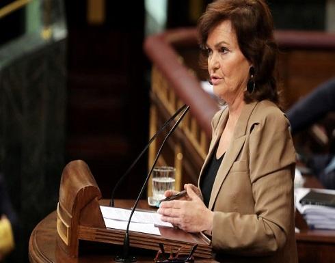 تأكيد إصابة نائبة رئيس الوزراء الإسباني بفيروس كورونا