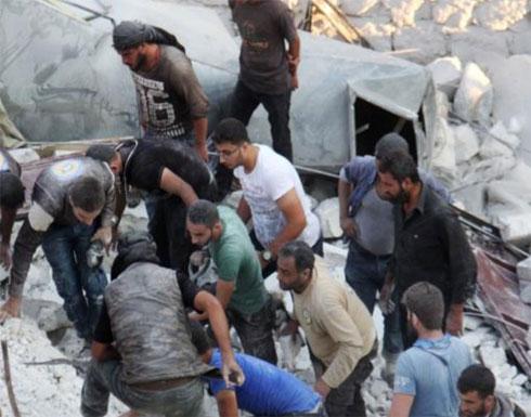ارتفاع حصيلة قتلى قصف إدلب