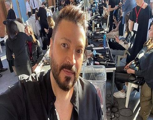 زهير مراد يبكي بعد مشاهدته الدمار الذي لحق بدار أزيائه.. بالفيديو