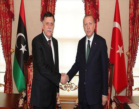 انتهاء لقاء أردوغان والسراج في إسطنبول