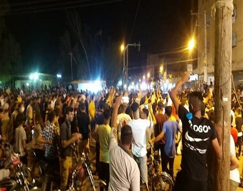 شاهد : احتجاجات المياه بإيران و حملة اعتقالات بالأهواز