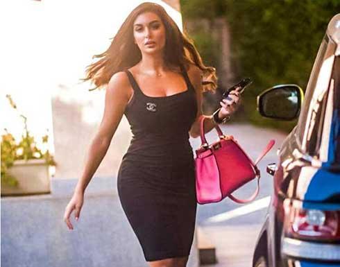 ياسمين صبري تستعرض مفاتنها بفستان تايجر مثير .. شاهد