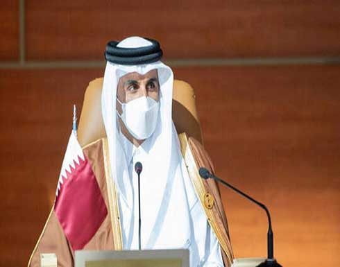 أمير قطر يلتقي وزيري الخارجية والدفاع الأمريكيين
