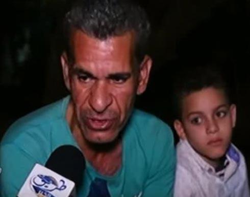 """بالفيديو: سائق يبكي """"رجعت من السعودية لقيت مراتي جايبة عيل من عشيقها"""""""