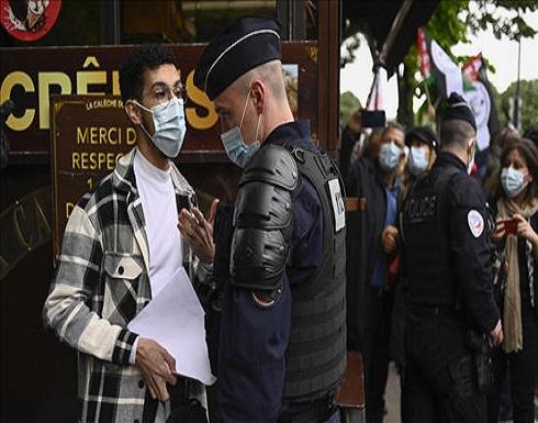 فرنسا تمنع مظاهرة داعمة لفلسطين و ماكرون يدعو لإعادة مفاوضات السلام