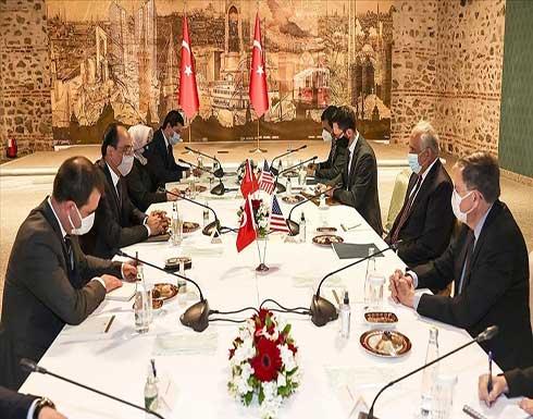 مباحثات تركية أمريكية حول السلام الأفغاني واجتماع إسطنبول