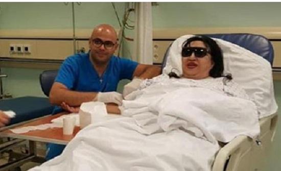 سميرة توفيق تخضع لعملية جراحية في القلب